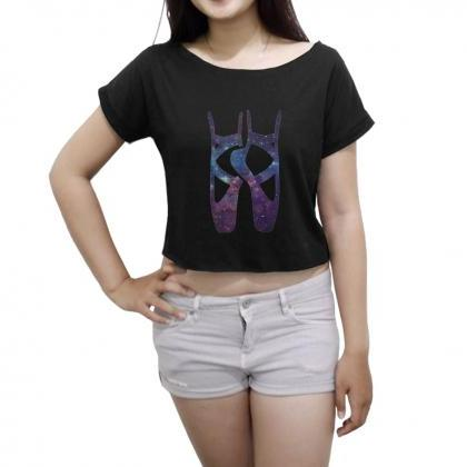 Galaxy Space Ballet T-Shirt Pointe ..