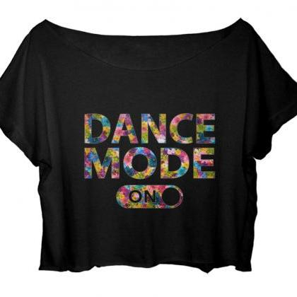 Flower Dance Mode On Shirt Ballet T..