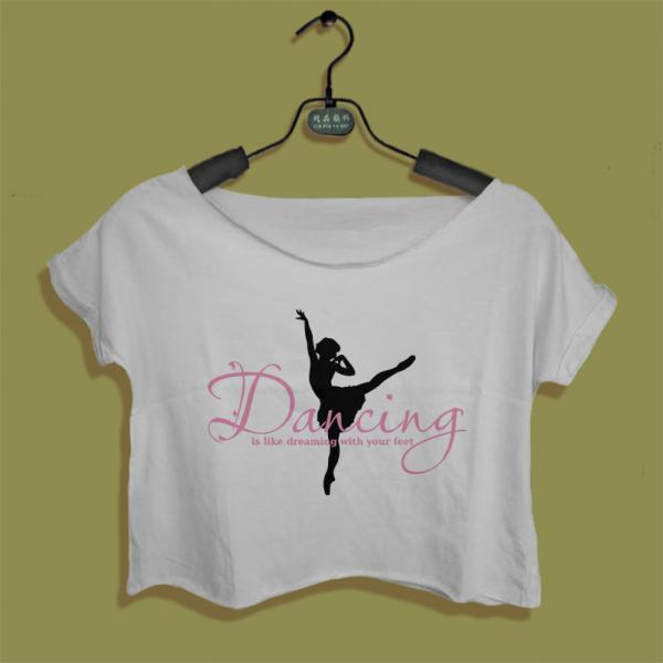 ballerina shirt dancing ballet women crop top crop tee all size black white t-shirt Instagram Pinterest Tumblr BL02IAM
